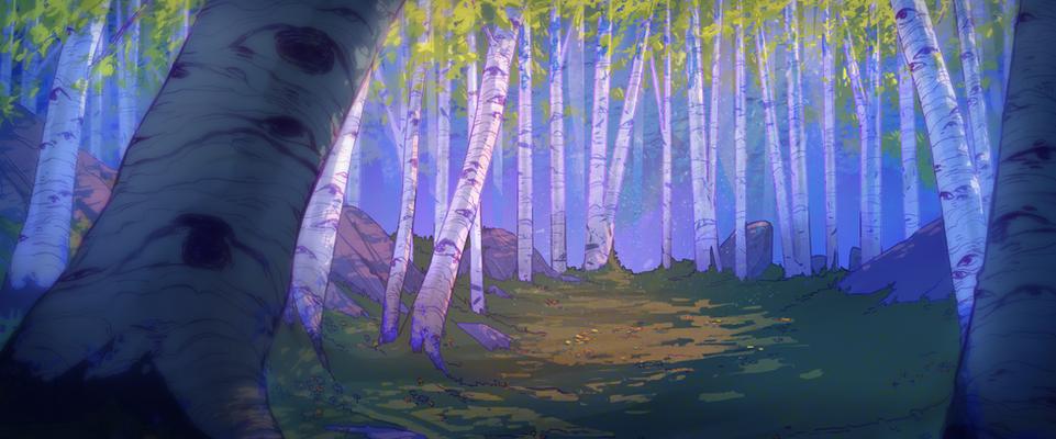Blackthorn Summer Forest