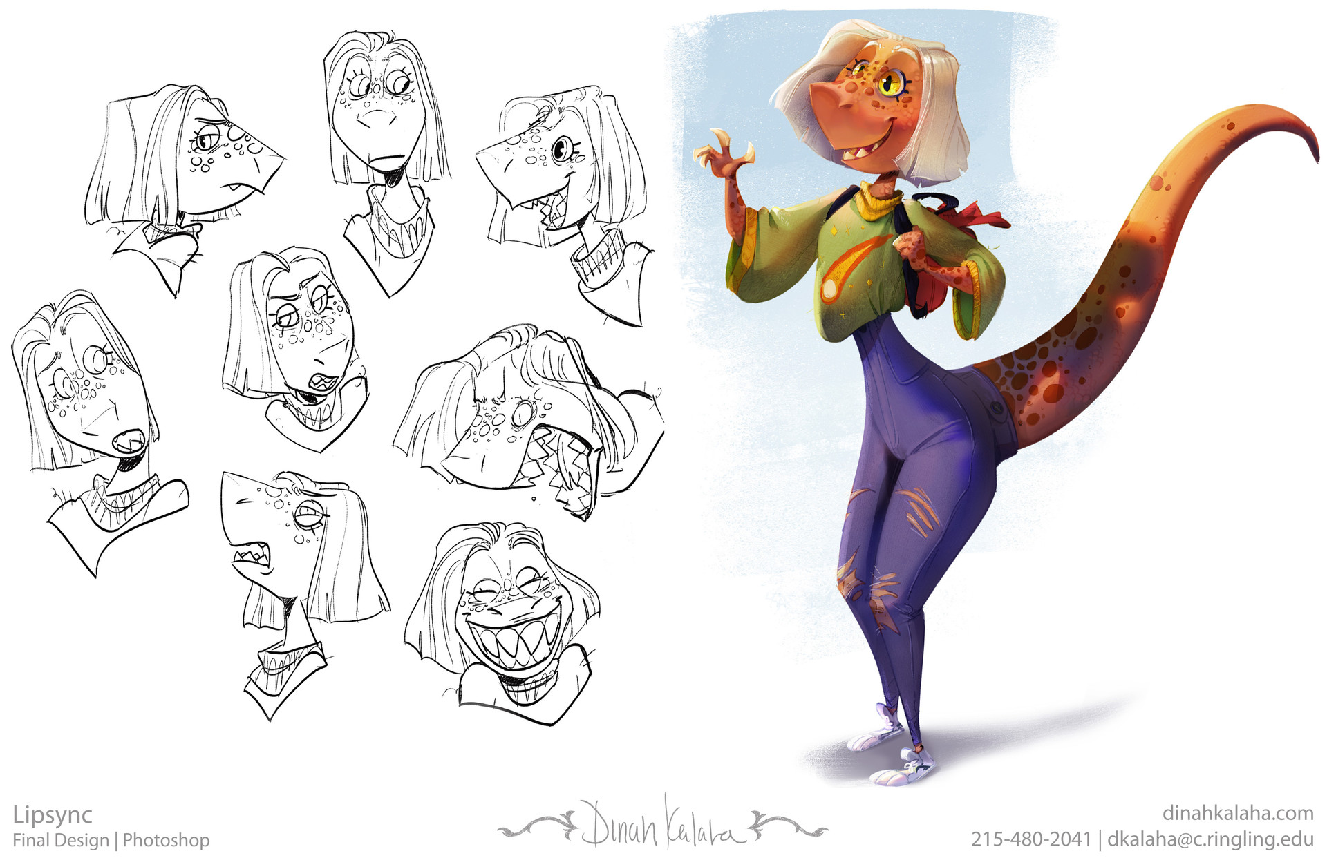 Dinahsaur Expressions & Painting