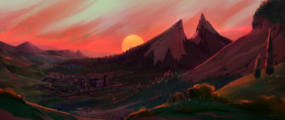 Blackthorn Evening