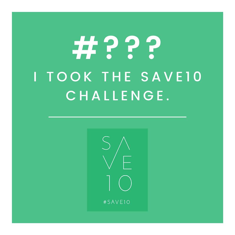 Save10 challenge Save10 campaign