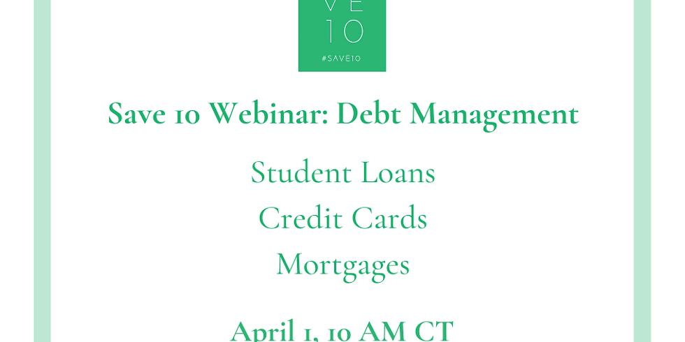 Debt Management Webinar