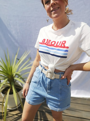 Tshirt Amour French