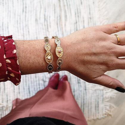 Bracelets Jonc Passiflore