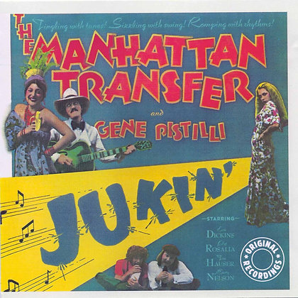 Jukin' by The Manhattan Transfer - Vinyl Record