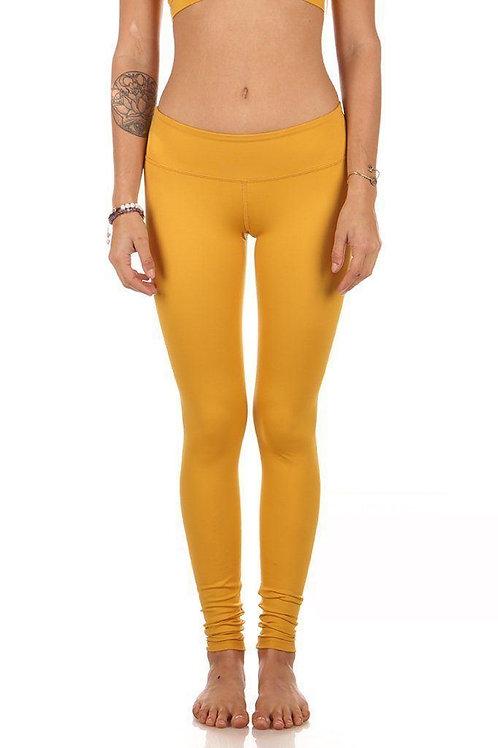 Kaya Legging Low Waist Mustard Size XS