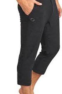 Namoustache Men's Crop Yoga Pant Black