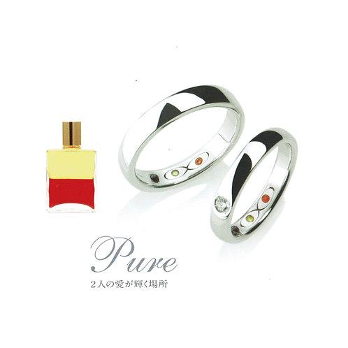 ツインソウル ジュエリー Pure BPU07F K11YG
