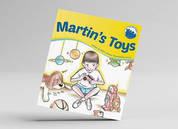 Level 1, Book 7: Martin's Toys