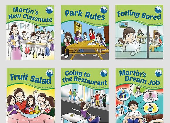 Set 4: Level 2, Books 1 - 6 ORDER OUTSIDE HONG KONG
