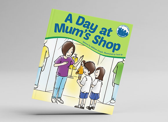 Level 2, Book 8: A Day at Mum's Shop