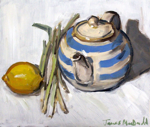The Striped Teapot
