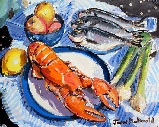 Lobster with Sea Bream