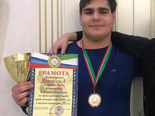 Спортсмены нашей школы стали призерами Первенства ЧР по Греко-Римской борьбе.