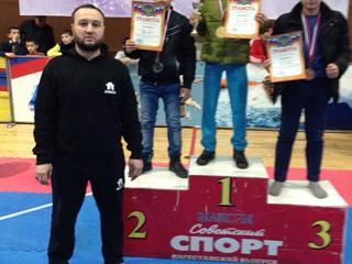 С 30 октября по 1 ноября в городе Махачкала прошел Всероссийский турнир по тхэквондо «Чемпион»
