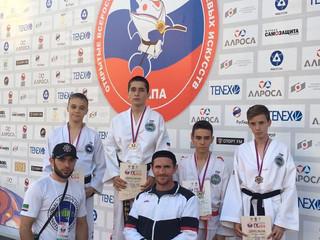 C 8 по 11 Сентября в г.Анапа прошли Всероссийские юношеские игры боевых искусств.