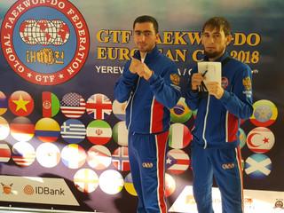 В Армении завершился Кубок Европы по Тхэквондо ГТФ 2018