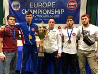 Чеченские спортсмены в составе сборной России» принесли в копилку нашей страны 4 золота и 3 бронзы.
