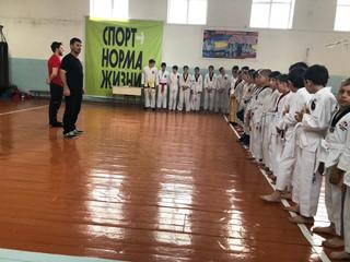 В г. Грозном 27.05.2021 г. прошло Первенство по тхэквондо ГТФ среди юношей и юниоров.
