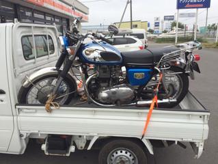 バイクの搬送