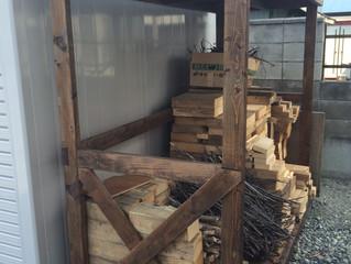 薪棚製作もしております。