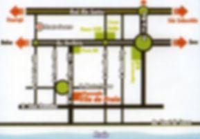 Mapa para a Pousada Vila da Praia