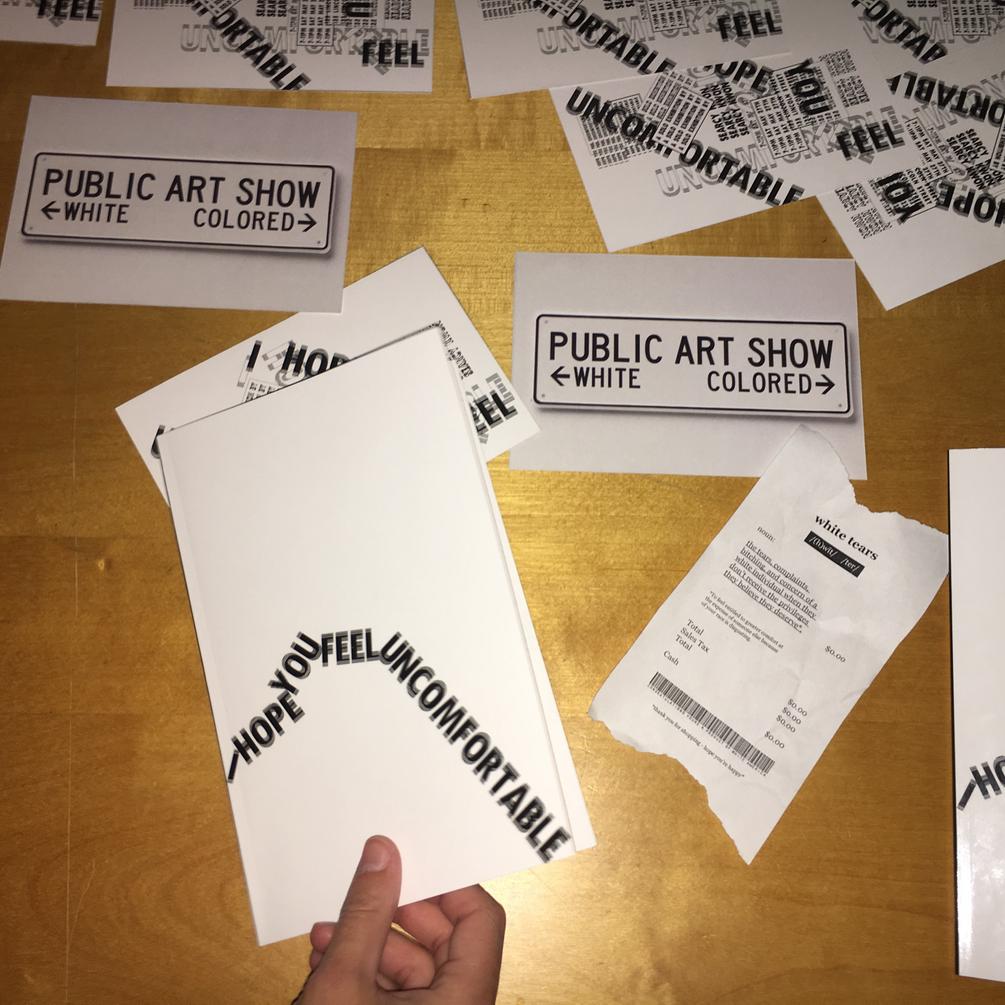 Artist Zine Cover & Promo Cards