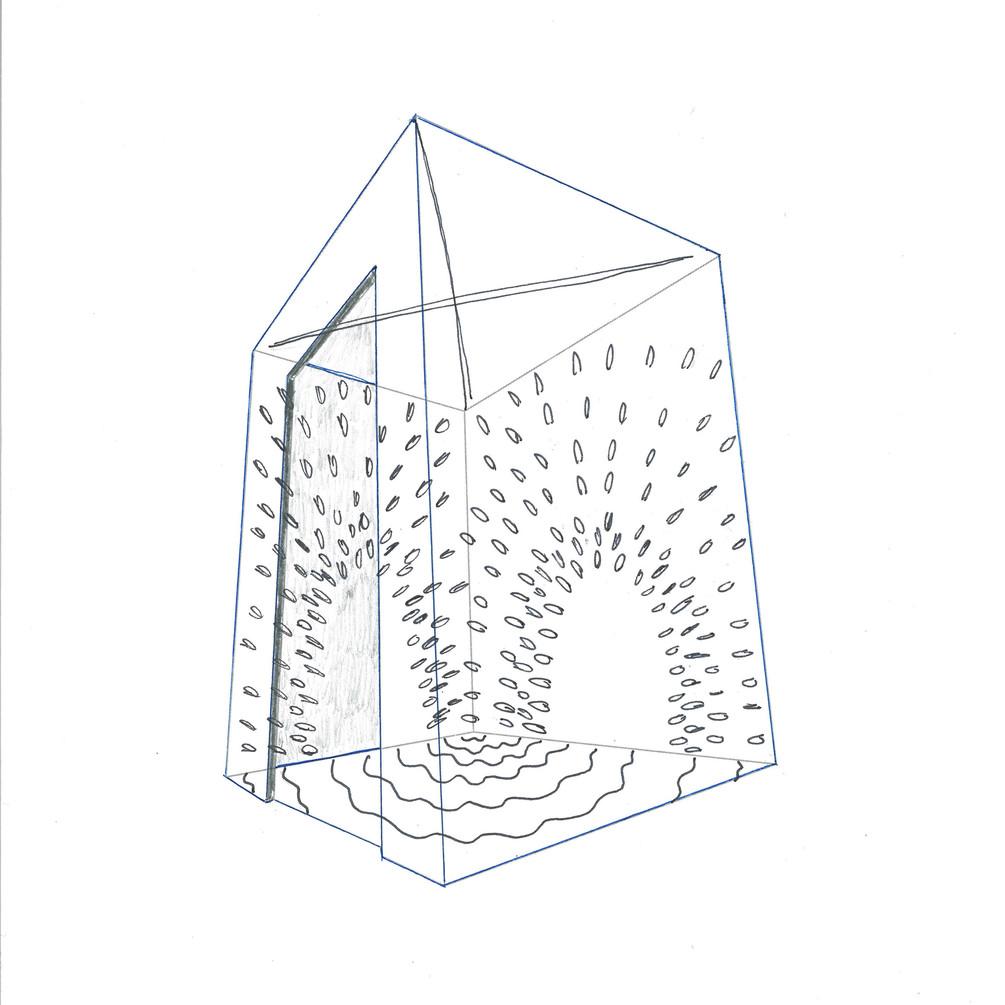Initial Sketch of Spoon Elevator Installation