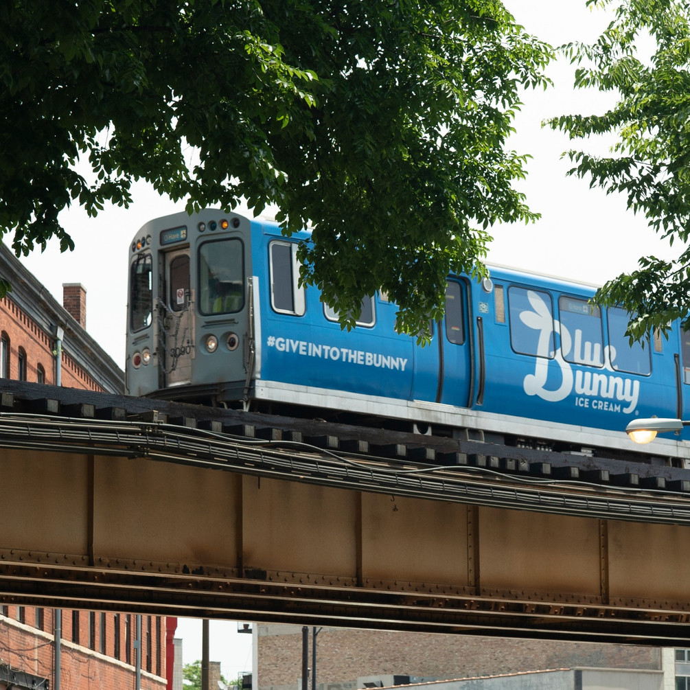 Train Exterior Wrap