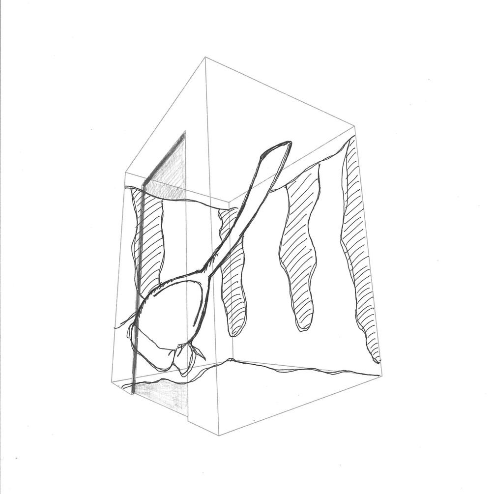 Initial Sketch of Load'd Sundae Elevator Installation
