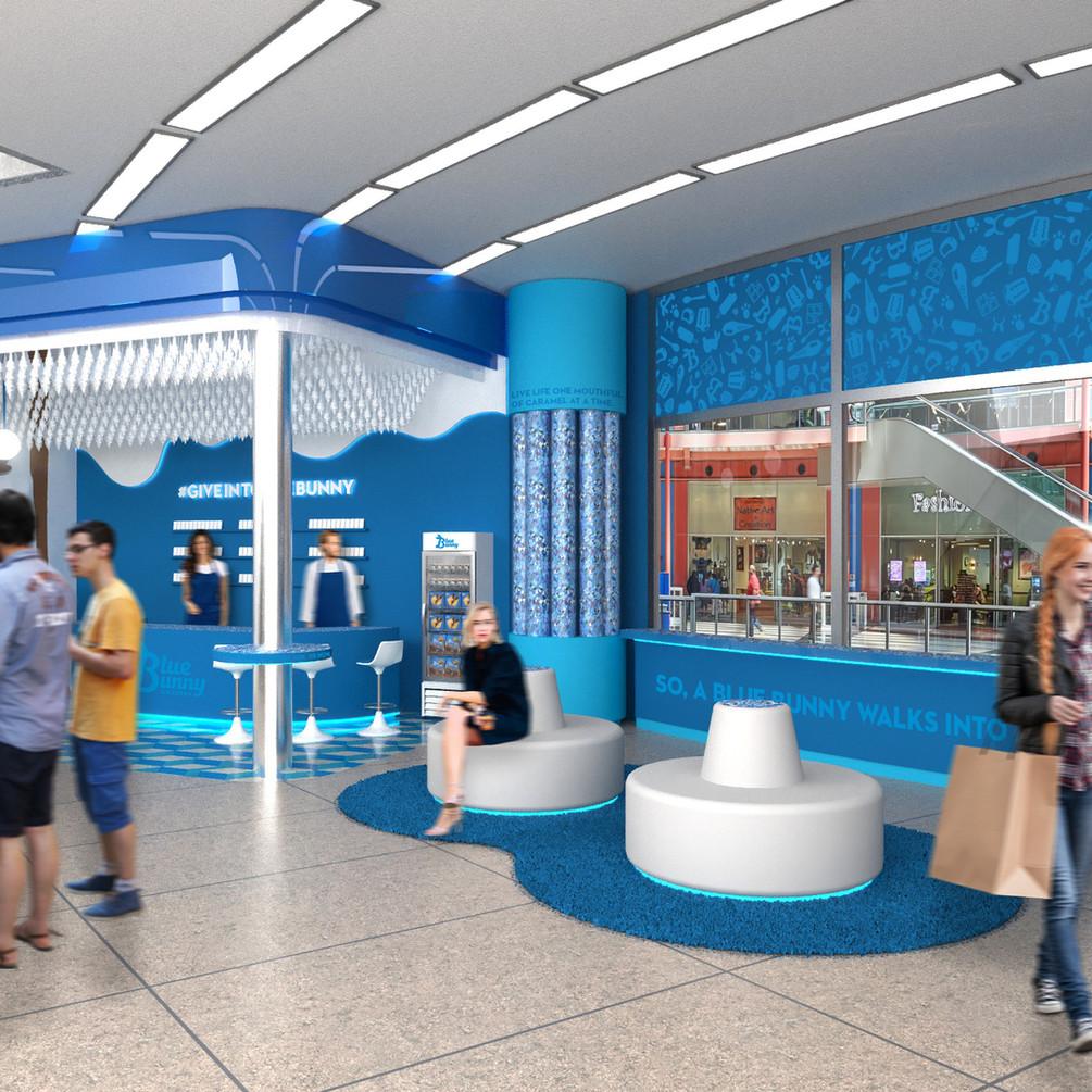 Ice Cream Shoppe 3D Render