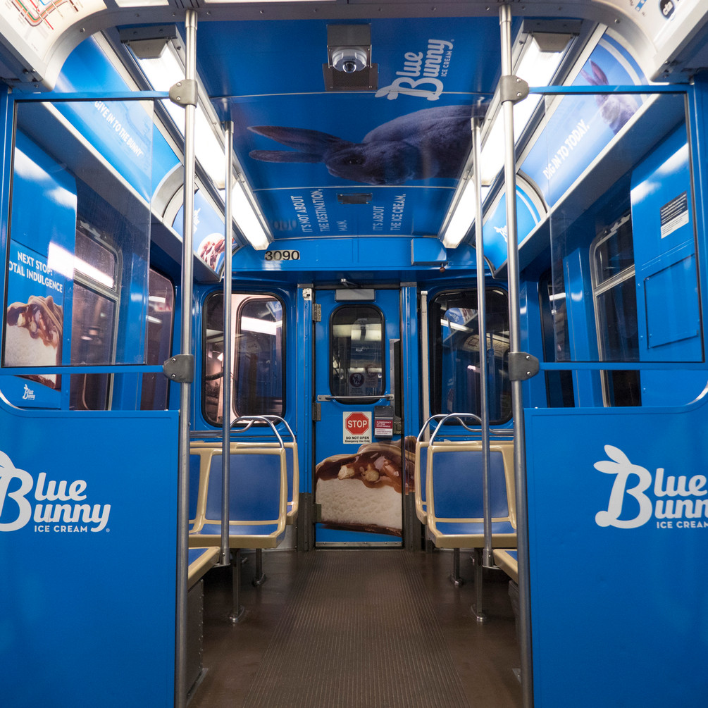 Train Wrap Interior