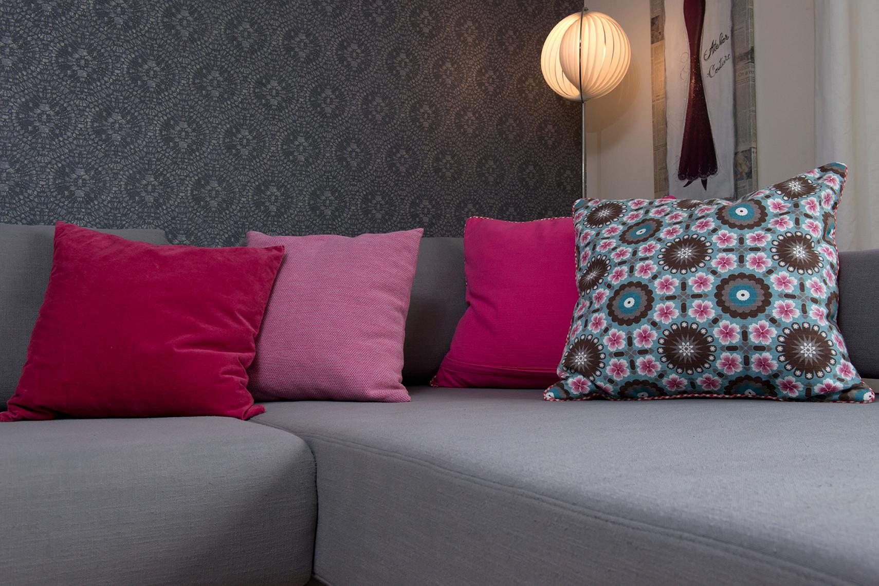 Kissen für stilvollen Wohnraum