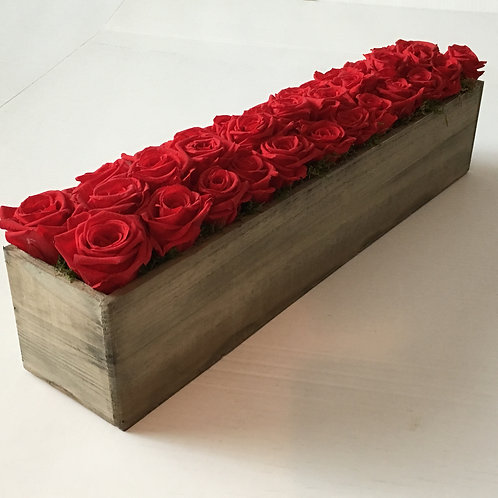 "20"" Long Wooden Box"