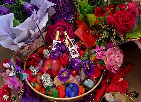 Ritual cigano no tacho de cobre (os perfumes são a parte)