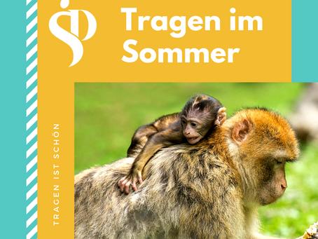 Baby Tragen im Sommer