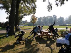 mamaFIT im Donaupark, jeden Mittwoch