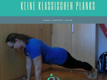 Keine klassischen Planks bei mamaFIT