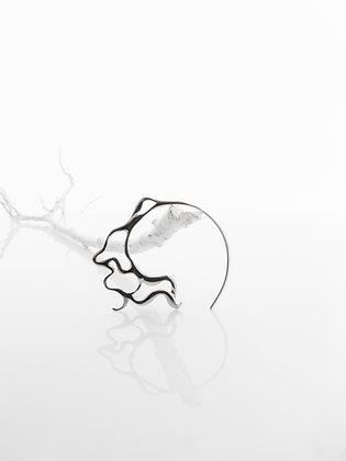 Creek Earring - Silver