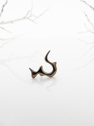 Brook Earring - Volcanic Gold