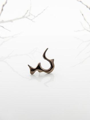 Brook Earring - Volcanic Gold