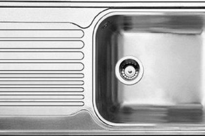 Tarja de Acero Inoxidable BLANCO TIPO XL 6 S