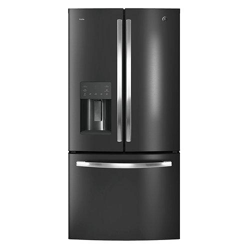 Refrigerador French Door General Electric PFM25LENCDS 25 Pies Dark Stainless