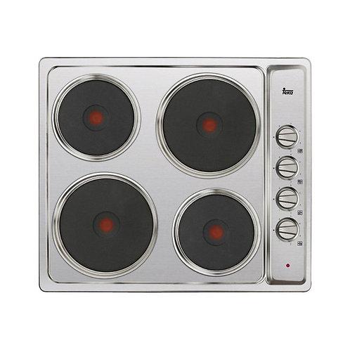 Parrilla de cocción eléctrica de 4 zonas con Mandos de perillas laterales E 60.2