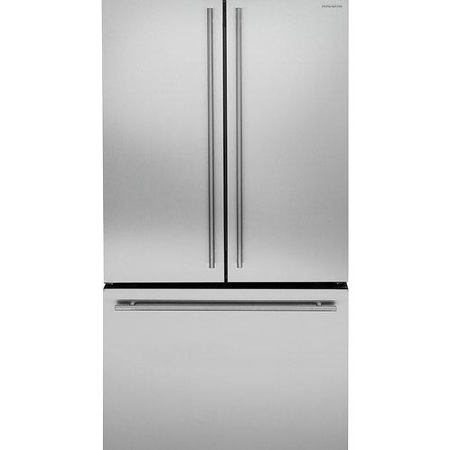 Refrigerador Bottom Freezer 654.1 L Acero Inoxidable MONOGRAM  ZWE23ESHS