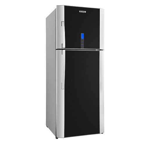 Refrigerador 19 pies IO MABE IOM510MZMRN0 Con Vidrio Gris Vulcano