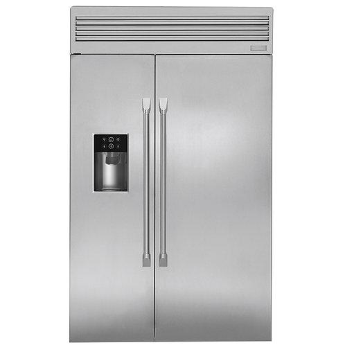 Refrigerador  empotrable de lado a lado de 30 pies MONOGRAM ZISP480DKSS