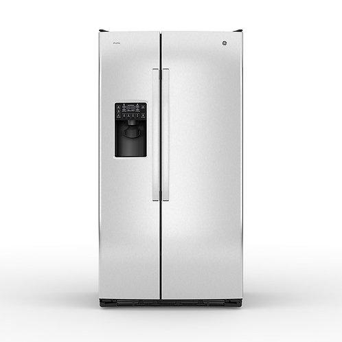 Refrigerador Side by Side 90cm GE Profile PNM26PGKCSS