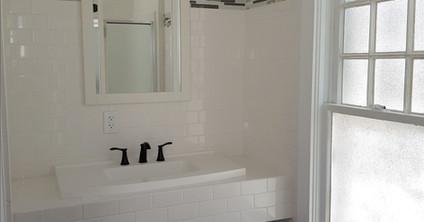 After - Main level bath