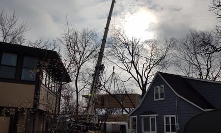 That is a big crane!