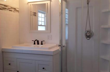 After - Upper level bathroom